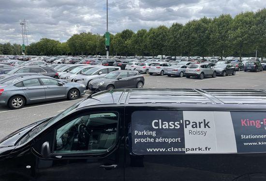 parking securise aeroport classpark roissy